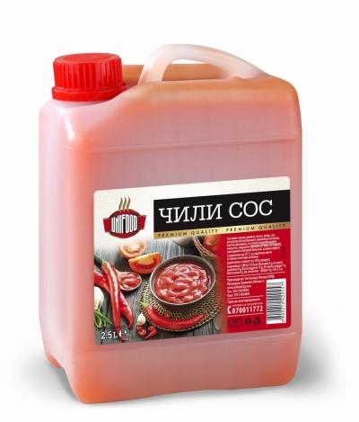 Чили сос Унифуд 2.5л.