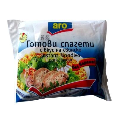 Готови спагети с вкус на свинско ARO 60гр.