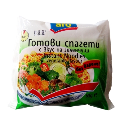 Instant noodles vegetable flavour ARO 60g.