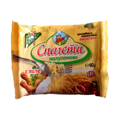 Instant noodles chicken flavour Fantastiko 60gr.