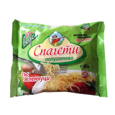 Instant noodles vegetable flavour Fantastiko 60g.