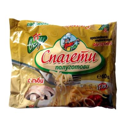 Instant noodles mushroom flavour Fantastiko 60g.
