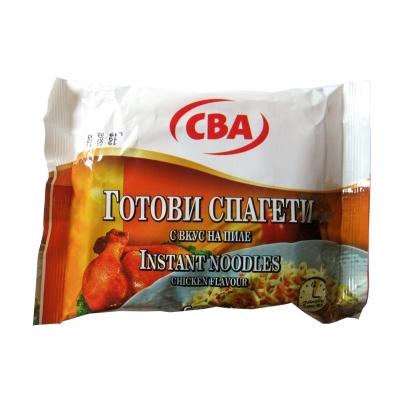 Готови спагети с вкус на пиле CBA 60гр.