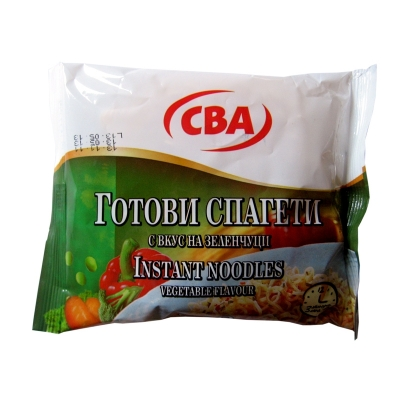 Instant noodles vegetable flavour CBA 60g.