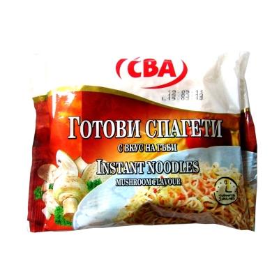 Готови спагети с вкус на гъби CBA 60гр.