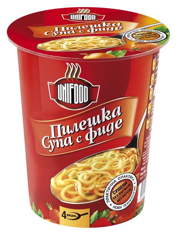 Супа пилешка с фиде 60 гр.
